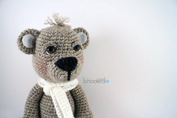 Amigurumi Yapılışı : Ayı teddy bear amigurumi ayı nasıl yapılır? burada herşey 1 başka