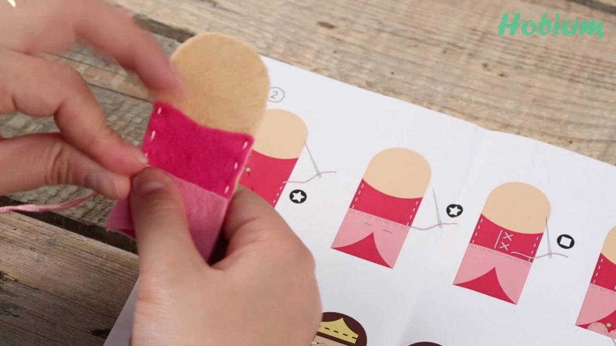 Fon Kartonundan Parmak Kukla Yapımı